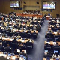 U.S. abstains from vote on Japan-sponsored antinuclear resolution at U.N. disarmament panel