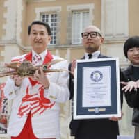 High bid for Japanese snow crab makes it into Guinness World Records