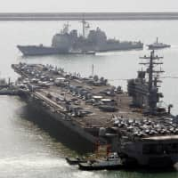 U.S. tells Japan it may resume military drills with South Korea next spring: sources