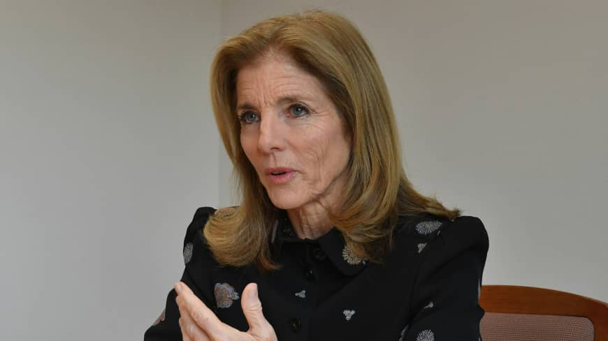 Returning for two-week tour, former U.S. Ambassador Caroline Kennedy reflects on her lifelong ties with Japan
