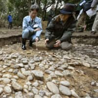 Stone pavement find at Daisen Kofun, Japan's largest ancient tomb, makes it 'overwhelmingly unique'