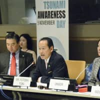 Mayor of tsunami-hit city stresses resilience and inclusivity at U.N.