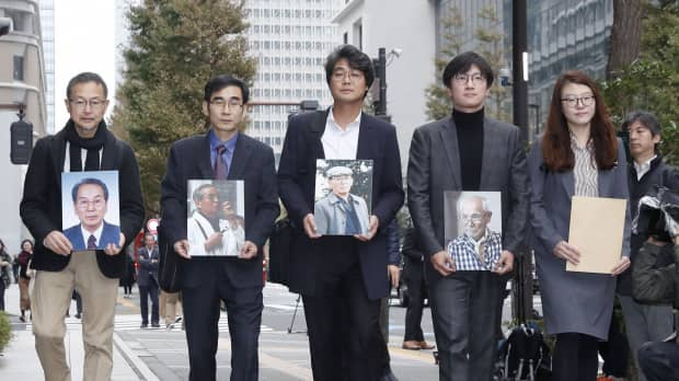 South Korean lawyers representing wartime laborers rebuffed by Nippon Steel in Tokyo