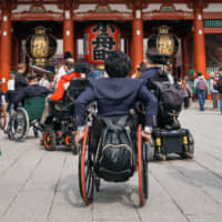 Breaking down barriers: The challenge of getting around Tokyo in a wheelchair
