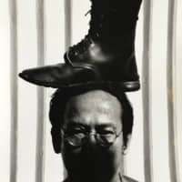 Vasan Sittiket's 'Top Boot on My Head' (1993). | PHOTO BY MANIT SRIWANICHPOOM / COLLECTION OF THE ARTIST