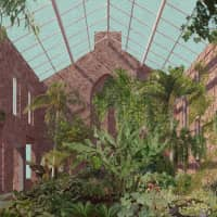 From Britain to Japan: An image from Assemble's Turner Prize-winning 'Granby Winter Garden Collage' | ASSEMBLE, GRANBY WORKSHOP / ASSEMBLE