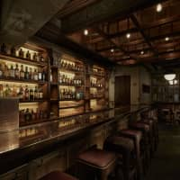 Step into the past: Guzzle is modelled after a 19th-century saloon but has Japanese details, such as espresso served in sake cups. | COURTESY OF THE SG CLUB