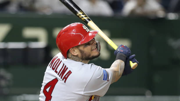 Yadier Molina, J.T. Realmuto go deep as MLB stars dominate Game 3