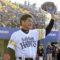 Manager Kimiyasu Kudo, seen in a February 2015 file photo, guided the Fukuoka SoftBank Hawks to their third Japan Series title in four years earlier this month. | KYODO