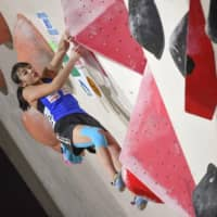 Futaba Ito, Meichi Narasaki win bouldering gold for Japan