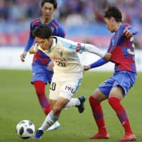 J1 champions Frontale outplay FC Tokyo on drama-filled day elsewhere