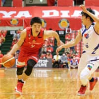 Nagoya guard Shuto Ando is one of the league's most potent perimeter shooters. | B. LEAGUE