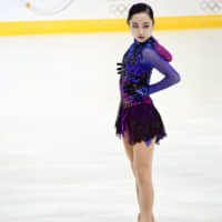 Junior skater Moa Iwano, considered one of Japan's top prospects for the future, recently spent 10 days in Colorado working on improving her jumps. | IANA SAVELEVA