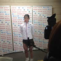 Yuhana Yokoi leads the women's field with 61.86 points. | JACK GALLAGHER