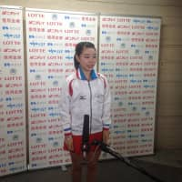 Nana Araki is in second place entering the women's free skate on Sunday. | JACK GALLAGHER
