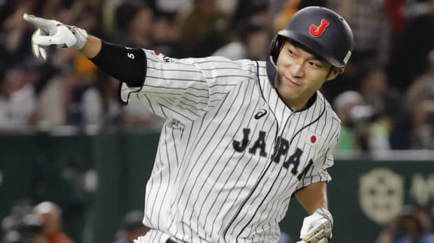 Yuki Yanagita makes major impression on MLB All-Stars