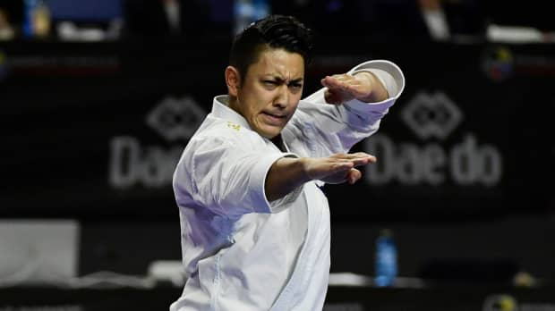 Ryo Kiyuna wins third consecutive karate gold at worlds