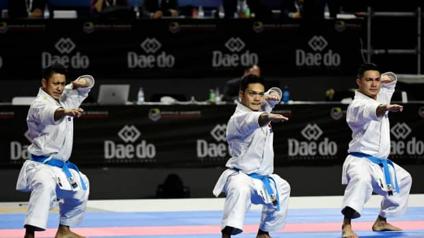 Japan dominates kata team events at karate world championships