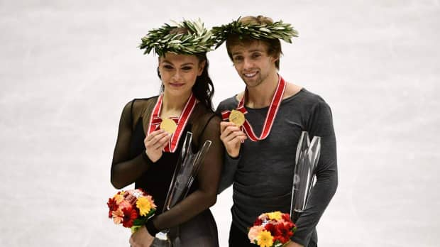 American duo claim ice dance gold at NHK Trophy