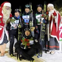 Japan earns Nordic combined silver at World Cup season opener