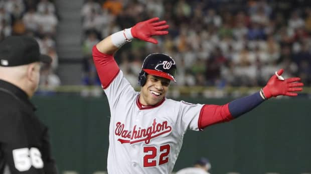 Nationals standout rookie Juan Soto relishes All-Star Series atmosphere