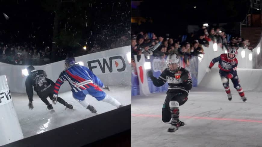 [VIDEO] Red Bull Crashed Ice Yokohama
