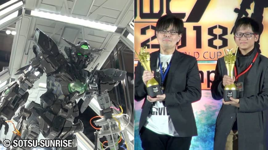 [VIDEO] Gundam Builders World Cup 2018 world championship award ceremony