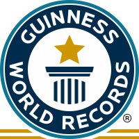 The logo recognized by the Guinness World Records