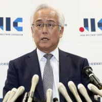 Masaaki Tanaka, president and CEO of Japan Investment Corp., speaks at a news conference in Tokyo on Monday. | KYODO