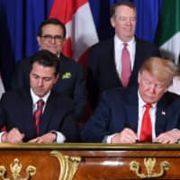 In move likely to affect Japan carmakers, U.S., Mexico, Canada ink new NAFTA deal