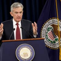 Federal Reserve Board Chairman Jerome Powell speaks during his news conference after a Federal Open Market Committee meeting in Washington Dec. 19. | REUTERS