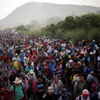 Caravans: The new face of U.S.-bound migration, with no end in sight