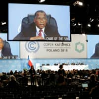 Emphasis on urgency as climate talks begin in fossil fuel-hooked Poland's coal city Katowice