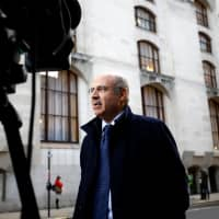 Businessman Bill Browder speaks after the coroner ruled that Russian businessman Alexander Perepilichnyy probably died of natural causes outside his home in 2012, after the inquest concluded at the Old Bailey in London Wednesday. | REUTERS