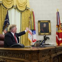Trump claims that federal workers idled by shutdown want Mexico border wall