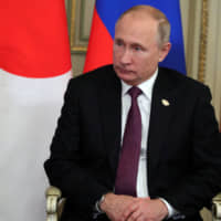 Abe invites Putin to Japan next summer as prime minister looks to accelerate peace treaty talks