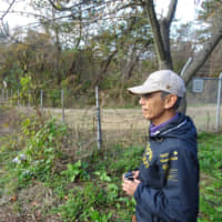 Shoichi Kosaka looks toward the Ground Self-Defense Force's Araya training area in the city of Akita. The planned location of an Aegis Ashore unit is only a few hundred meters from his home and just 5 km from Akita Station. | ERIC JOHNSTON