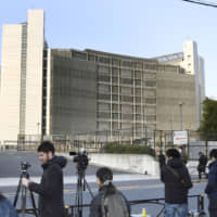 When prosecutors make an arrest, suspects are held in detention centers from the start, such as the Tokyo Detention House seen here, whereas those arrested by police are initially held in holding cells. | KYODO