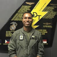 U.S. Marine Capt. Jahmar F. Resilard, seen in an undated photo, was killed in a plane crash off the coast of Kochi Prefecture on Thursday, the military said Friday. | AP