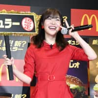 Idol Rino Sashihara surprised fans Saturday by announcing her plans to leave HKT48 next year. | KYODO