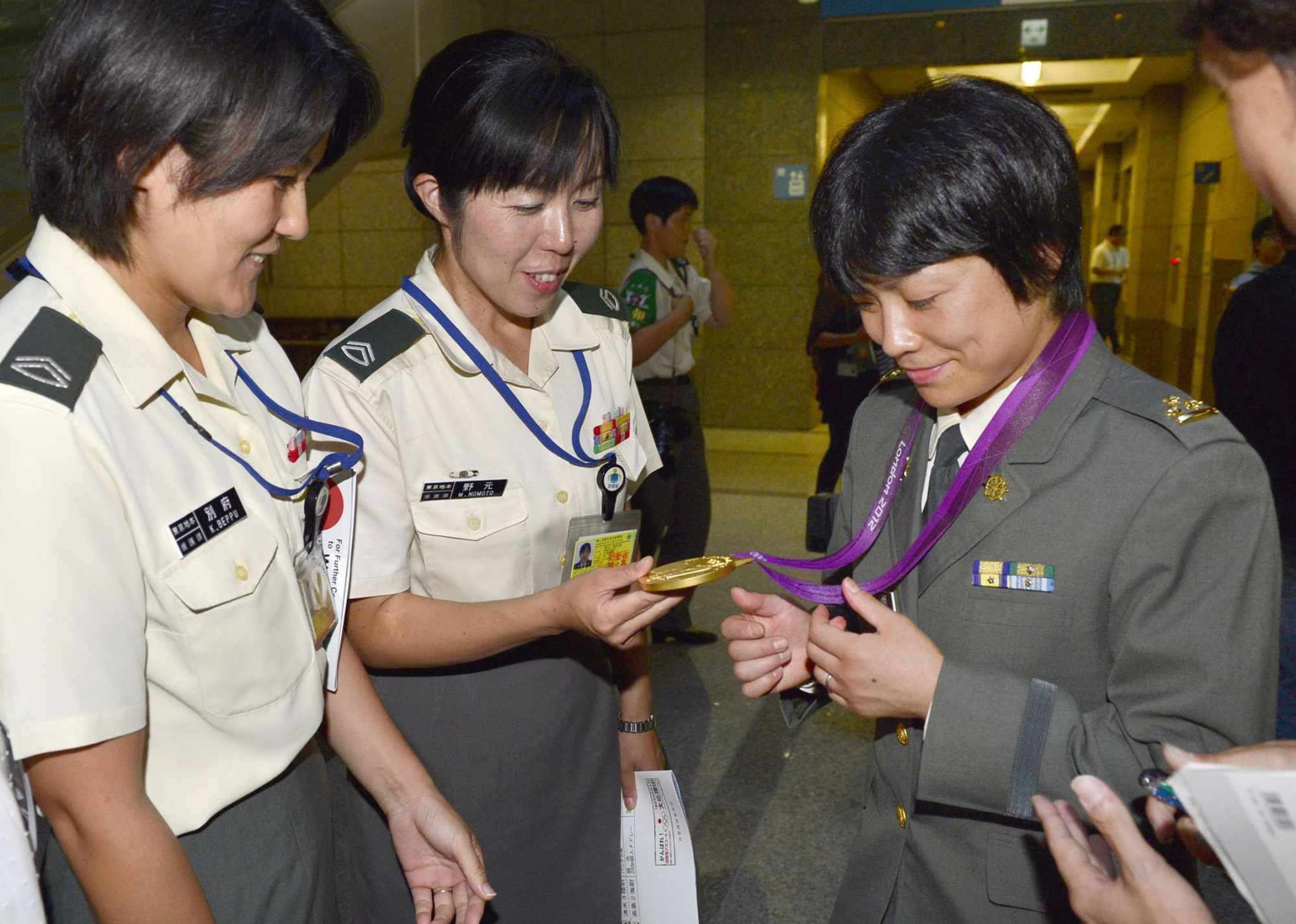 The number of female personnel in the Self-Defense Forces has been rising in recent years. | KYODO