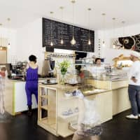 Steady winner: The interior of Machiko Yamashita's first Kame cafe and bakery in Charlottenburg, Berlin | COURTESY OF KAME