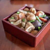 Food designed to bring family together: New Year's onishime. | MAKIKO ITOH