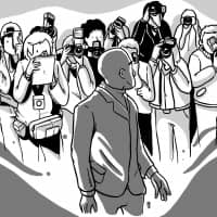 Taking notes: While the author has spent years writing about blackness in Japan, 2018 was the year he found more people willing to listen. | ILLUSTRATION BY      JIMI OKELANA