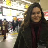 Maria Bueno, Working in Japan, Spanish: The best thing about 2018 was traveling. I live in Japan so I had opportunities to travel around Asia. I visited Nepal and had a great experience. My main goal for 2019 is to learn Japanese because I've been living in Japan for 2½ years and I don't know any Japanese. My resolution is to read more books. | MEGHA WADHWA