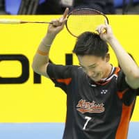 Kento Momota wins men's singles at national championship