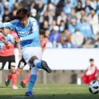 Jubilo top Verdy in J1 playoff