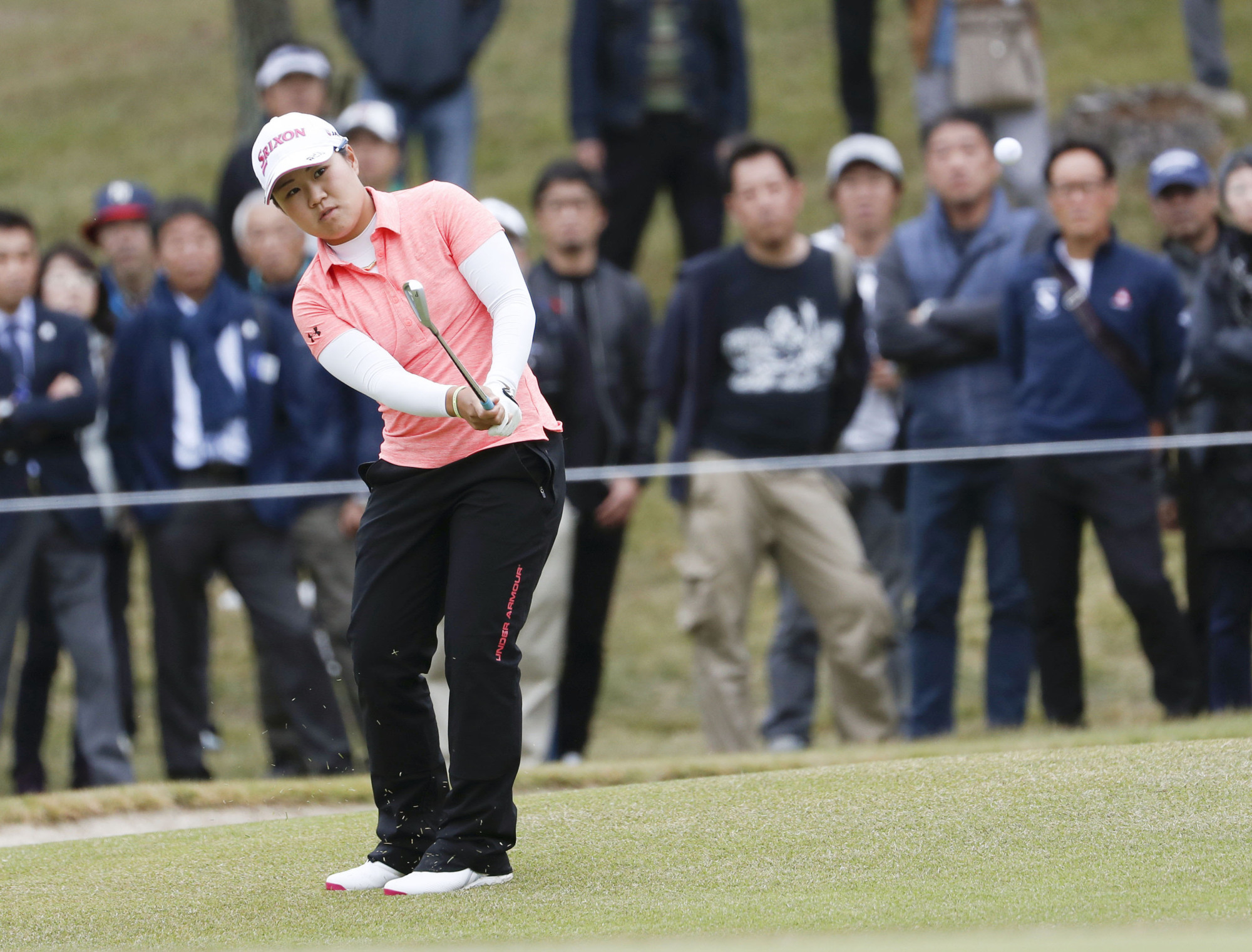 Nasa Hataoka won the NW Arkansas Championship with a 21-under par score and was fifth in earnings on the LPGA Tour in 2018. | KYODO