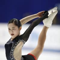 The leader after the short program, Satoko Miyahara missed out on a fifth straight national championship. The 20-year-old finished third after scoring 146.58 points in the free skate for a total of 223.34.
