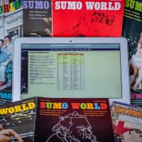 The fan-published magazine Sumo World and websites such as Sumo Reference have enabled foreign fans of the sport to follow the latest news in detail from abroad. | JOHN GUNNING